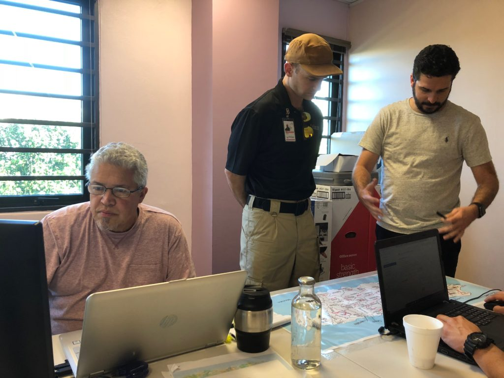 Studying impacts from Hurricane Maria 2017 in San Juan, Puerto Rico